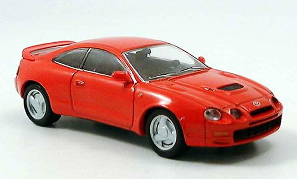 Toyota Celica 1/43 Del Prado rouge miniature