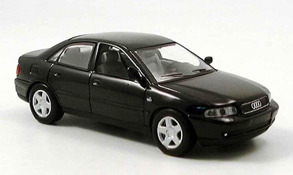 Audi A4 1/43 Del Prado black diecast model cars