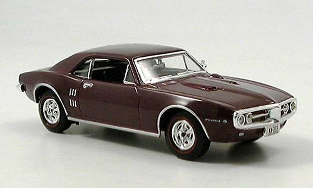 Pontiac Firebird 1967 1/43 Del Prado lila miniature