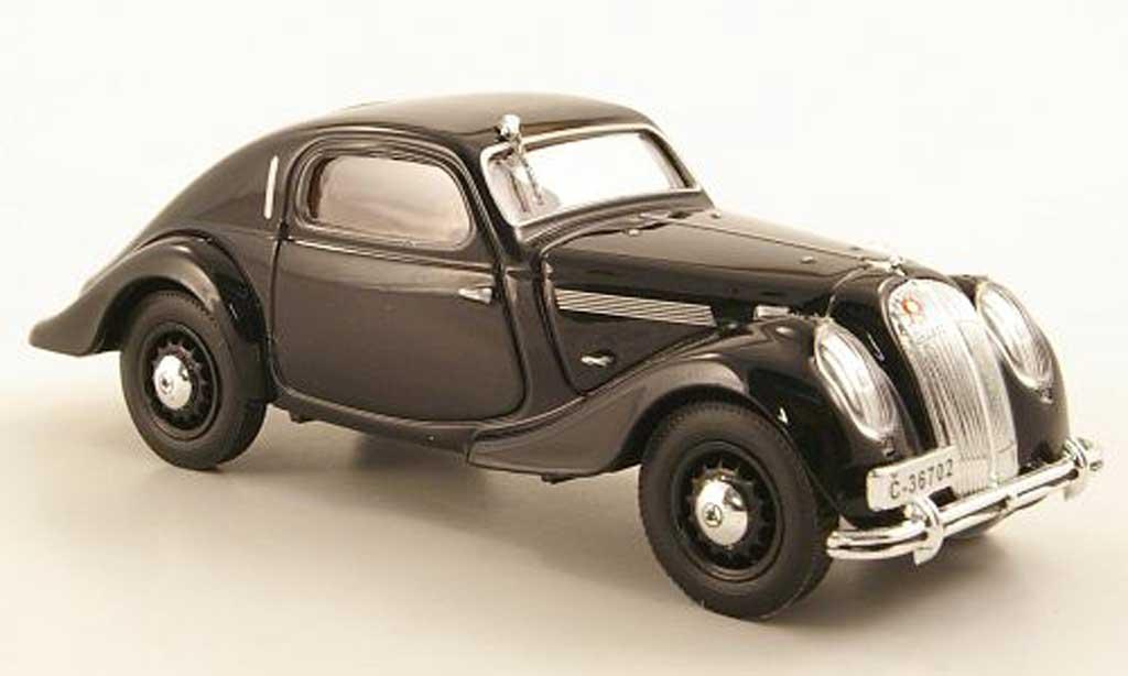 Skoda Popular Sport 1/43 Abrex Monte Carlo noire 1935 miniature
