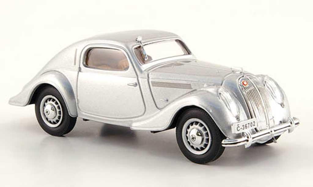 Skoda Popular Sport 1/43 Abrex Monte Carlo grise 1935 miniature