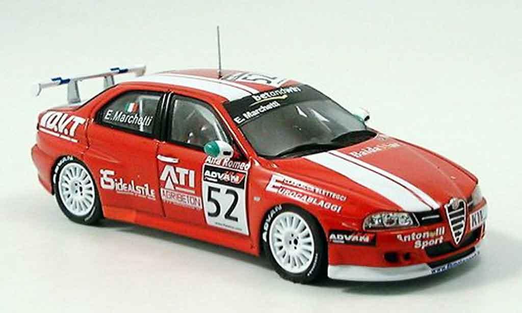 Alfa Romeo 156 GTA WTCC 1/43 Spark no. 52 marchetti 2006 miniature