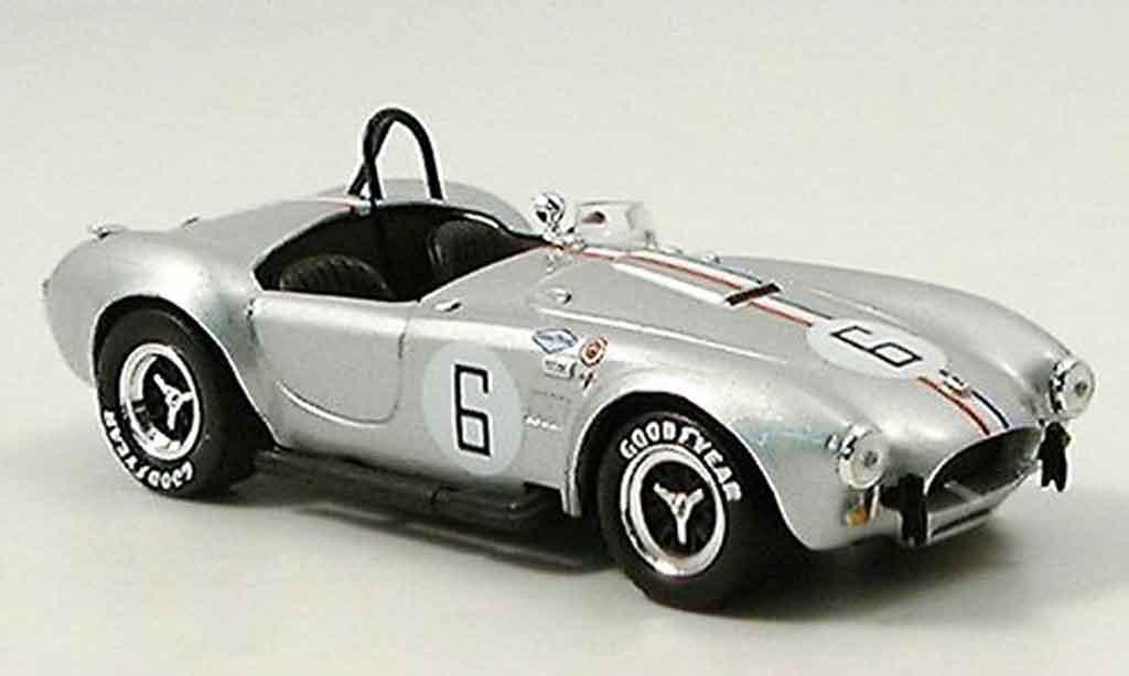 Shelby Ac Cobra 1/43 Del Prado Cobra 427 s c No.6 grise metallisee miniature