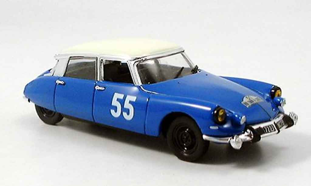Citroen DS 19 1/43 Norev no.55 rallye tour de course miniature