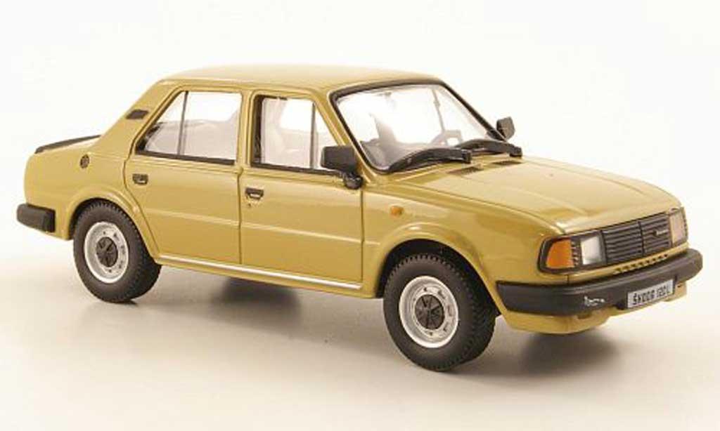Skoda 120 1/43 Abrex L beige 1986 miniature