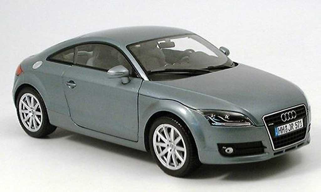 Audi TT 1/18 Minichamps Coupe grise 2006 miniature