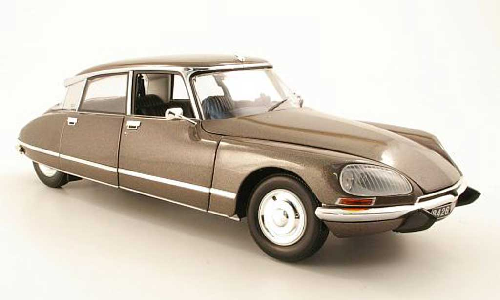 Citroen DS 23 1/18 Norev Pallas marron miniature