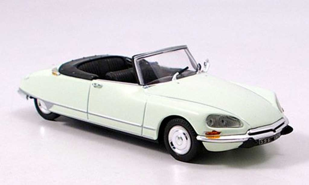 Citroen DS 21 1/43 Norev cabriolet blanche  1970 miniature
