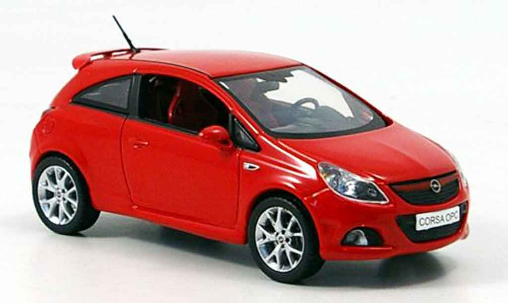Opel Corsa 1/43 Norev sport rouge 2006 miniature