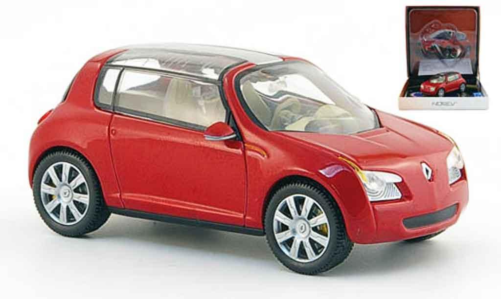 Renault Zoe 1/43 Norev rouge autosalon genf 2005 miniature