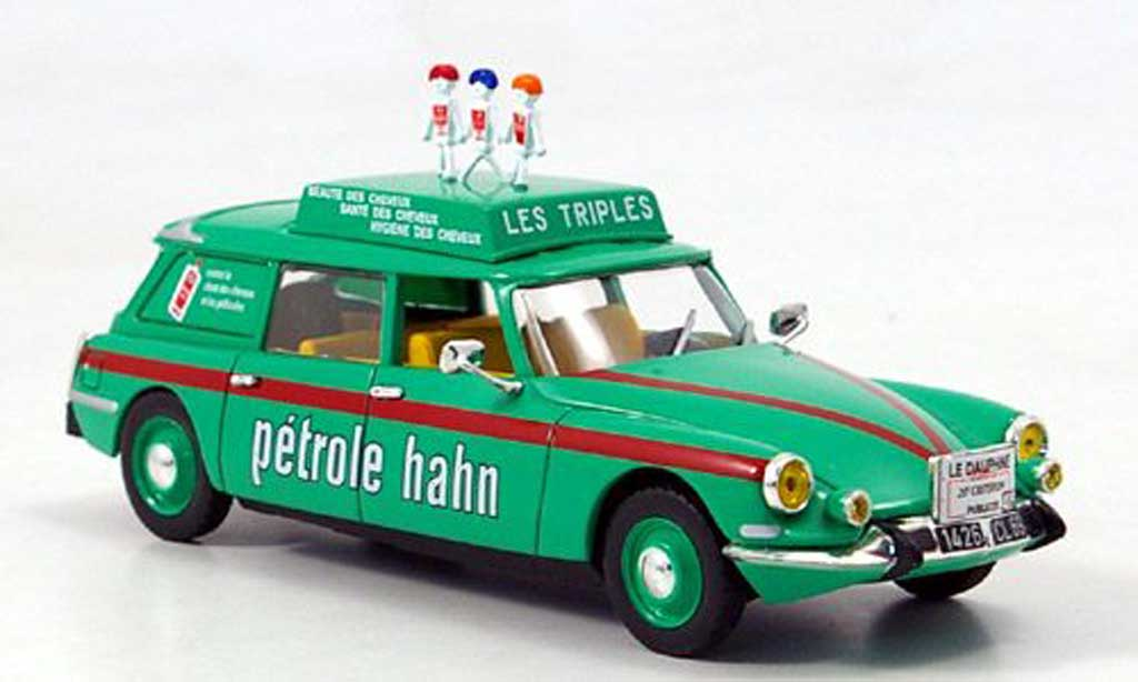 Citroen DS 1/43 Norev Break Petrole Hahn miniature