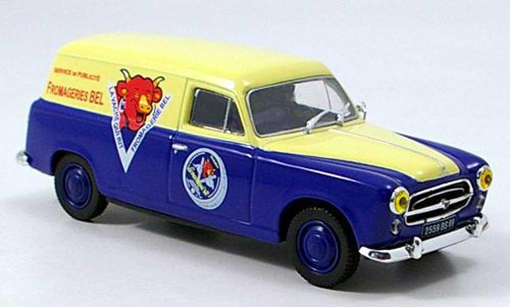Peugeot 403 Break 1/43 Norev Fourgonette La Vache qui Rit miniature