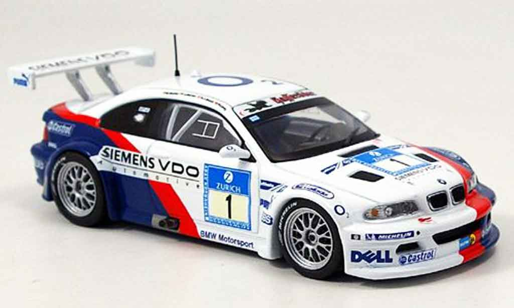 Bmw M3 E46 1/43 IXO GTR No.1 Nurburgring 2005 diecast model cars