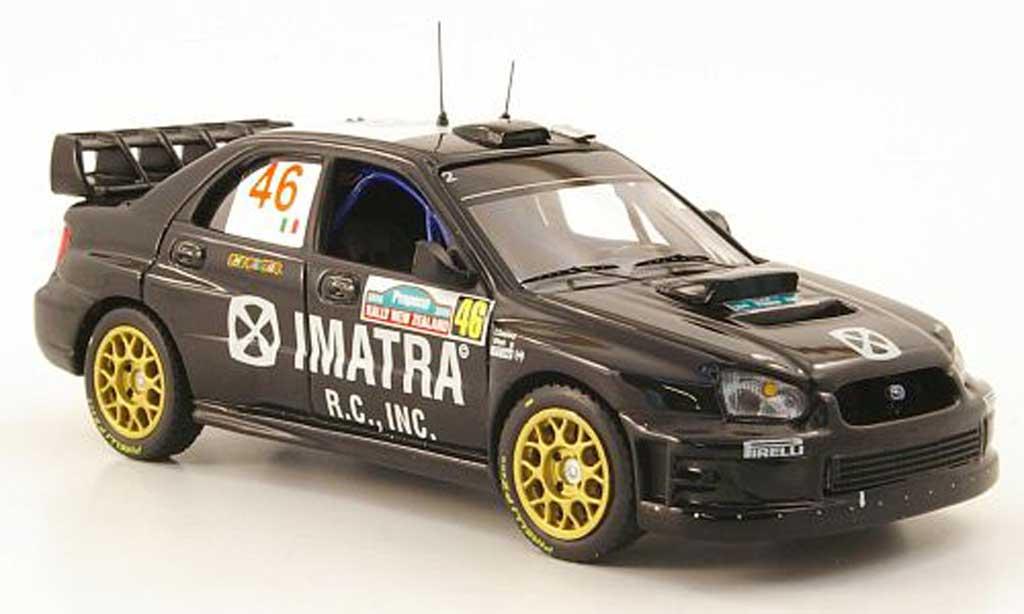 Subaru Impreza WRX 1/43 IXO No.46 Imatra Rossi/Cassina Rally Neuseeland 2006 modellino in miniatura