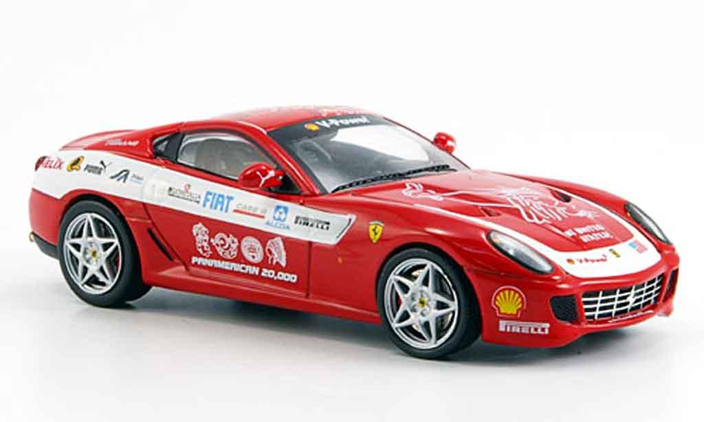 Ferrari 599 GTB 1/43 IXO panamericana rosso 2006 miniatura