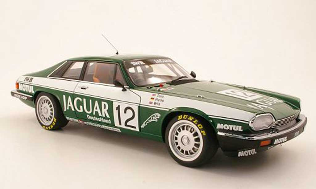 Jaguar XJS 1984 1/18 Autoart No12 TWR Racing ETCC 24h SpaFrancorchamps TWalkinshaw / HHeyer / WPercy diecast