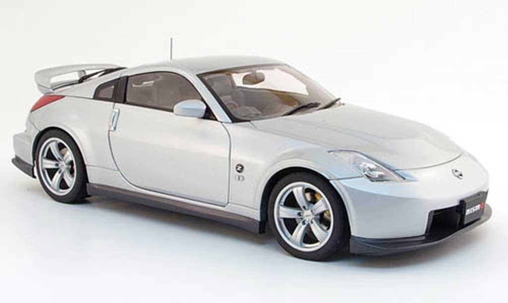 Nissan 350Z 1/18 Autoart Nismo fairlady z type 380 rs gray 2006 diecast