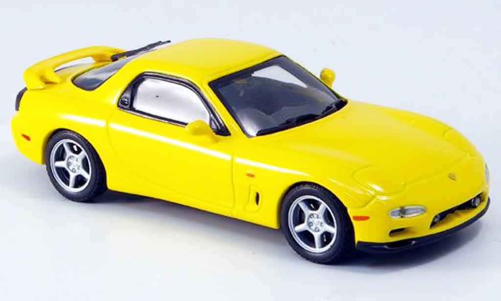 Mazda RX7 1991 1/43 Kyosho (FD3S) Type R yellow diecast