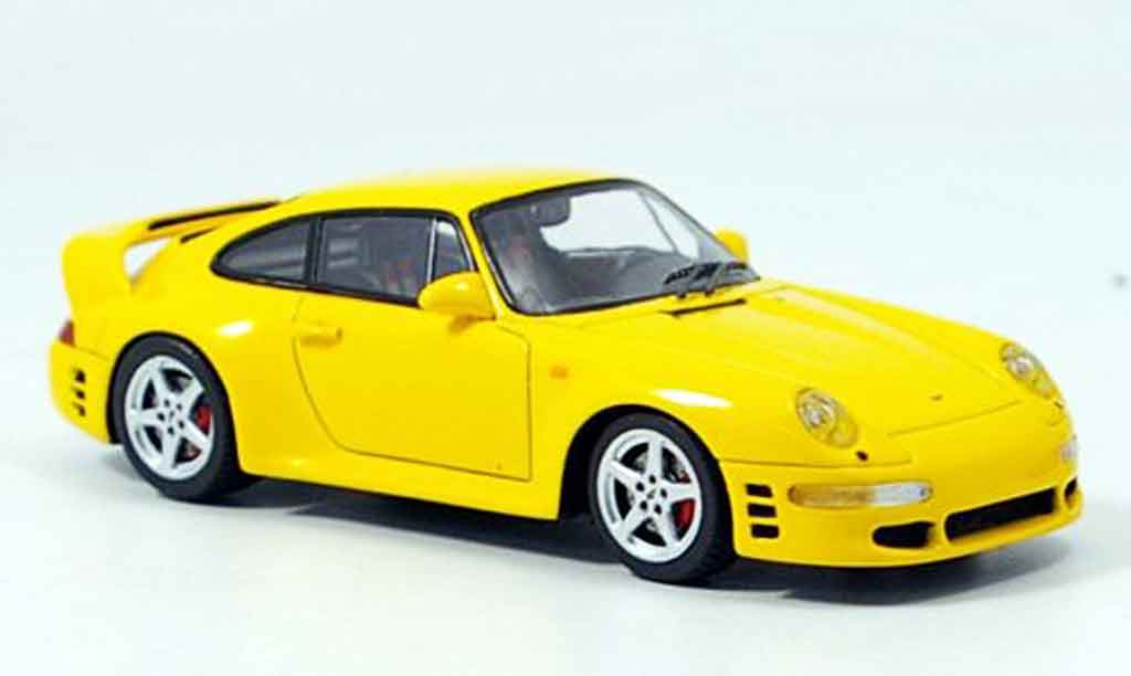 Ruf CTR 2 1/43 Spark amarillo 1996 miniatura