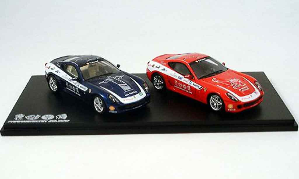 Ferrari 599 GTB 1/43 Red Line panamerica set 2006 miniature