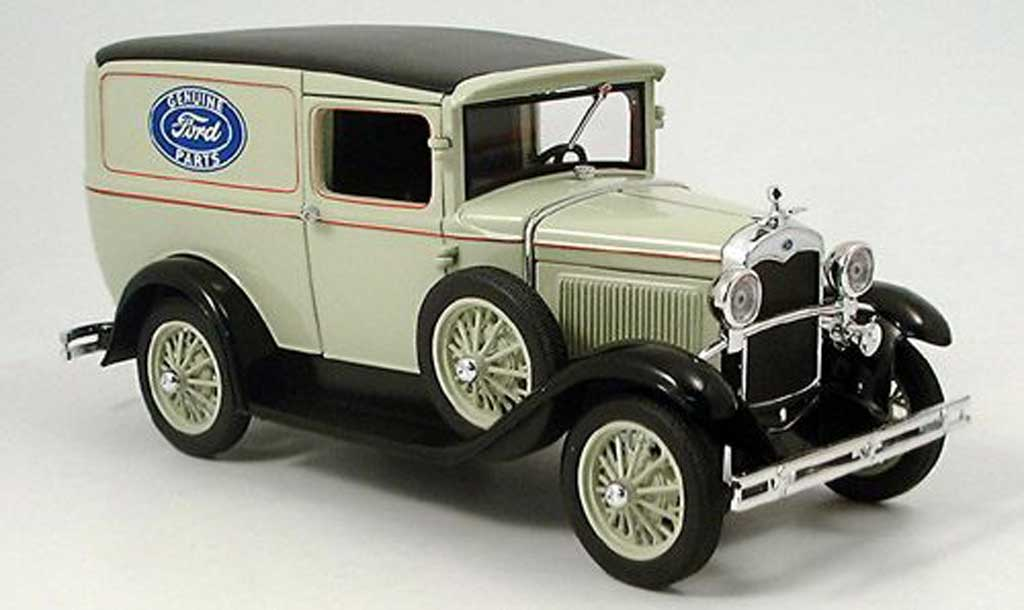 Ford Delivery 1/18 Signature Van grise 1931 miniature