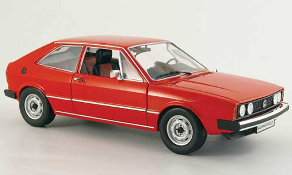 Volkswagen Scirocco GTI 1/18 Revell GTI (typ 53) rouge 1976 miniature