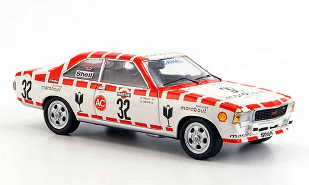 Opel Commodore B 1/43 Schuco gs e no.32 24h sp1973 miniature