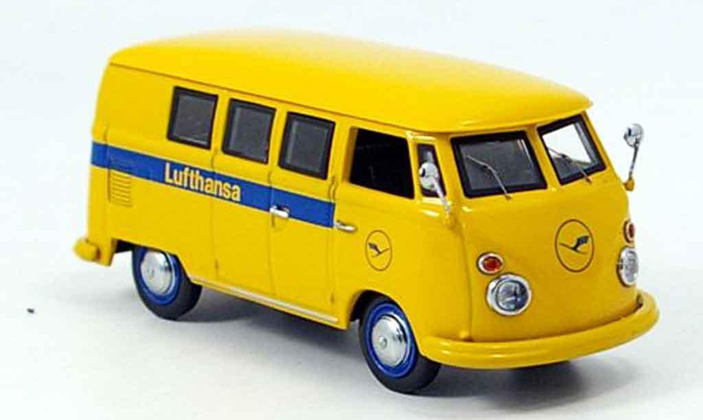 Volkswagen Combi 1/43 Schuco t 1 bus lufthansa modellautos