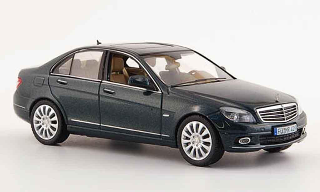 Mercedes Classe C 1/43 Schuco grun Limousine diecast model cars