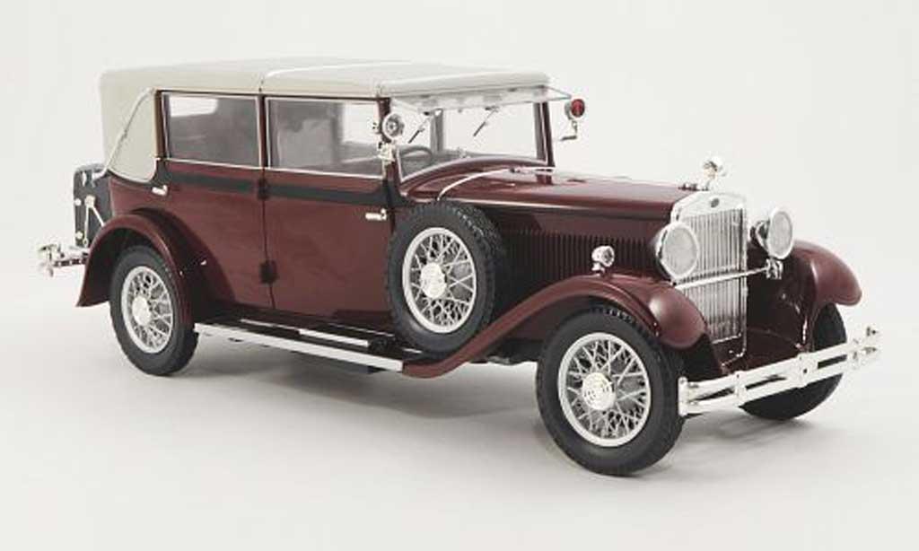 Skoda 860 1/18 Abrex rouge 1932 miniature