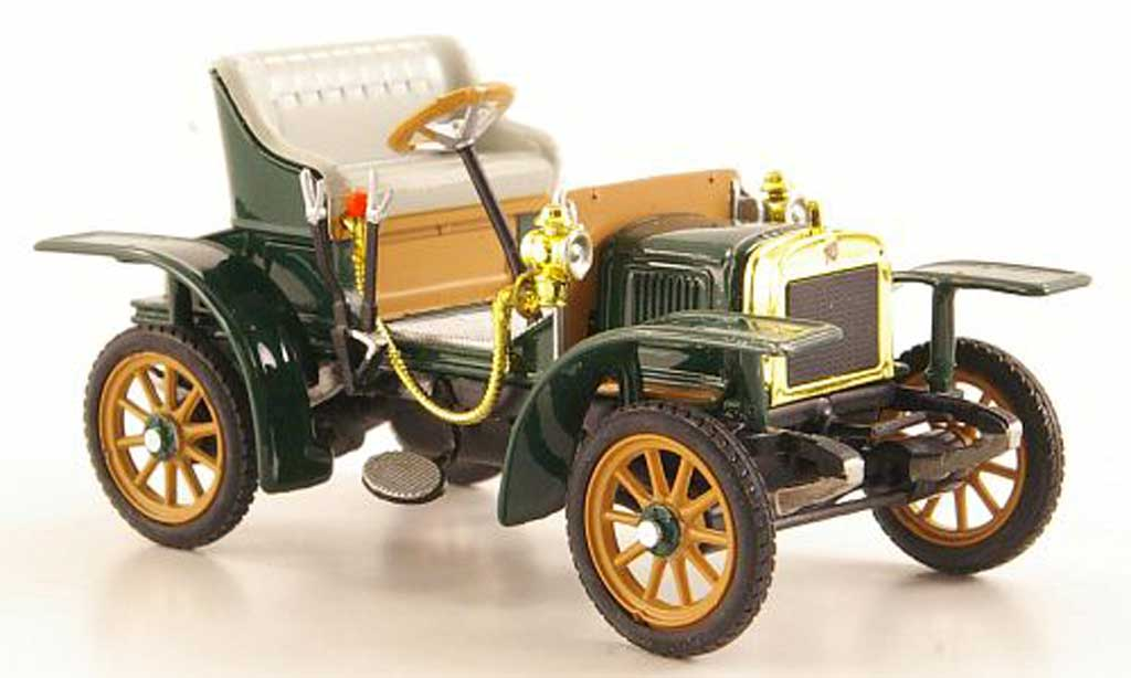 Laurin Klement Voiturette 1/43 Abrex Laurin-Klement grun 1905 miniature