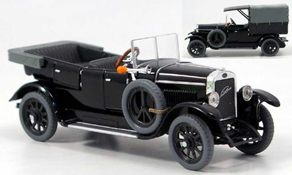 Skoda 110 1/43 Abrex Laurin & Klement Combi Limousine/Lieferwagen noire 1927 miniature