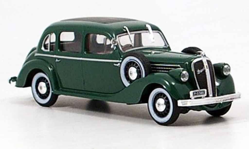 Skoda Superb 1938 1/43 Abrex 913 grun miniature