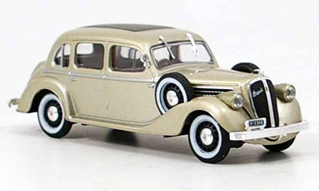 Skoda Superb 1938 1/43 Abrex 913 beige miniature