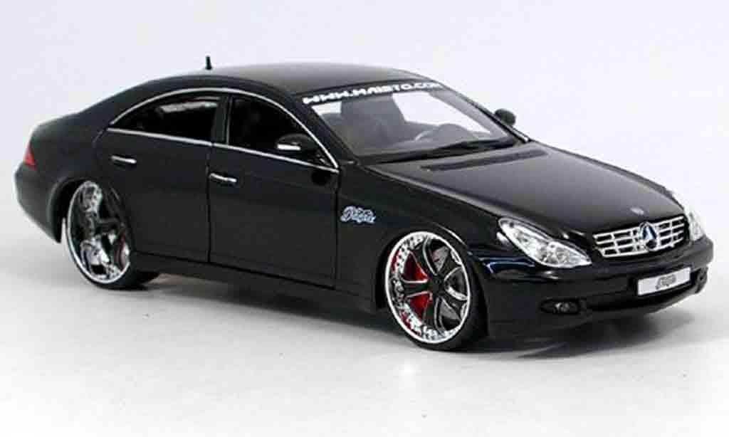Mercedes Classe CLS 1/18 Maisto g-ridez tuning black diecast