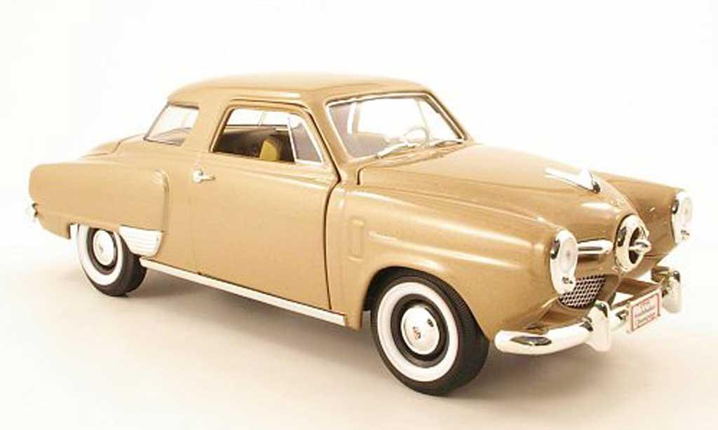 Studebaker Champion 1/18 Yat Ming beige 1950 miniature