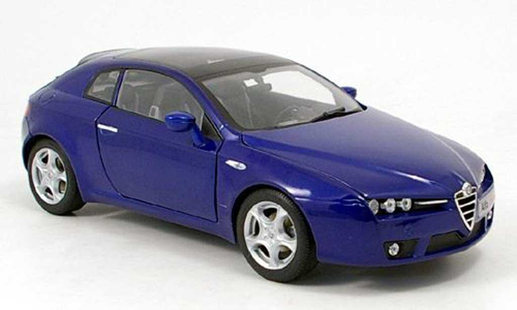 Alfa Romeo Brera 1/18 Norev bleue 2006 miniature