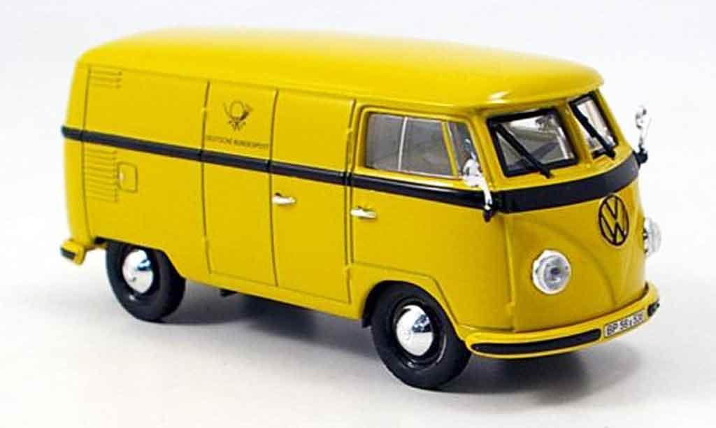 Volkswagen Combi 1/43 Norev t 1b transporter deutsche post 1958 miniature