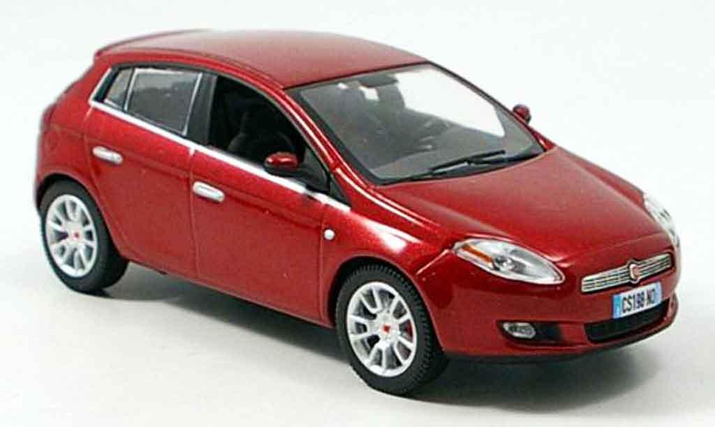 Fiat Bravo 1/43 Norev rouge 2007