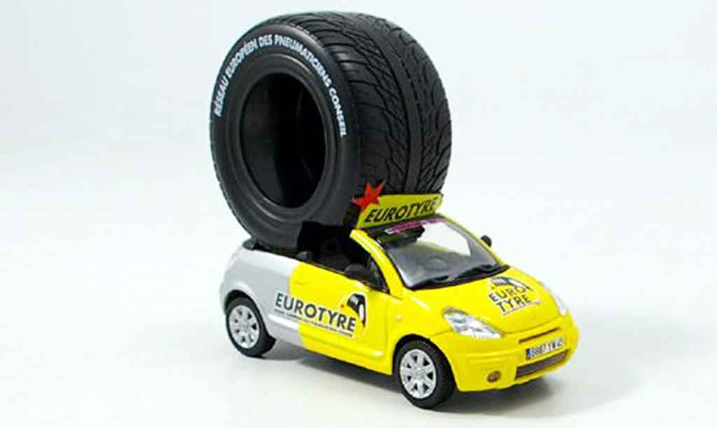 Citroen C3 1/43 Norev pluriel eurougeyres tour de france 2006 miniature