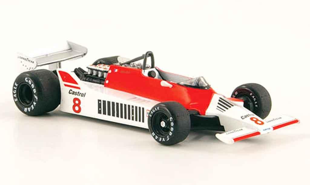 McLaren M29 1/43 Solido No.8 A.Prost 1980 miniature