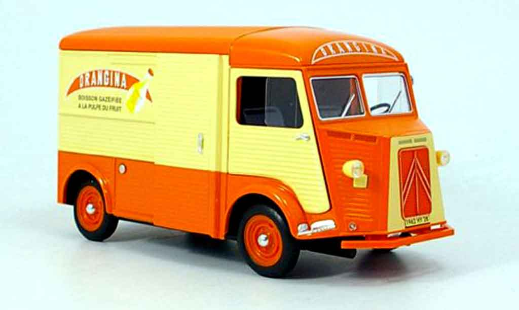 Citroen HY 1/18 Solido orangina lieferwagen (1:21) 1962 miniature
