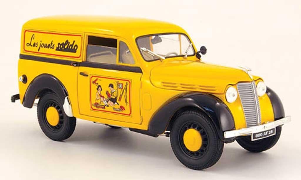 Renault Juvaquatre 1/18 Solido lieferwagen solido 1952 diecast