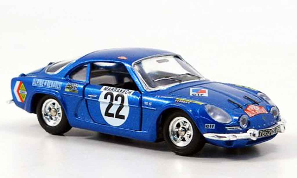 Alpine A110 1/43 Solido no.22 1971 diecast model cars