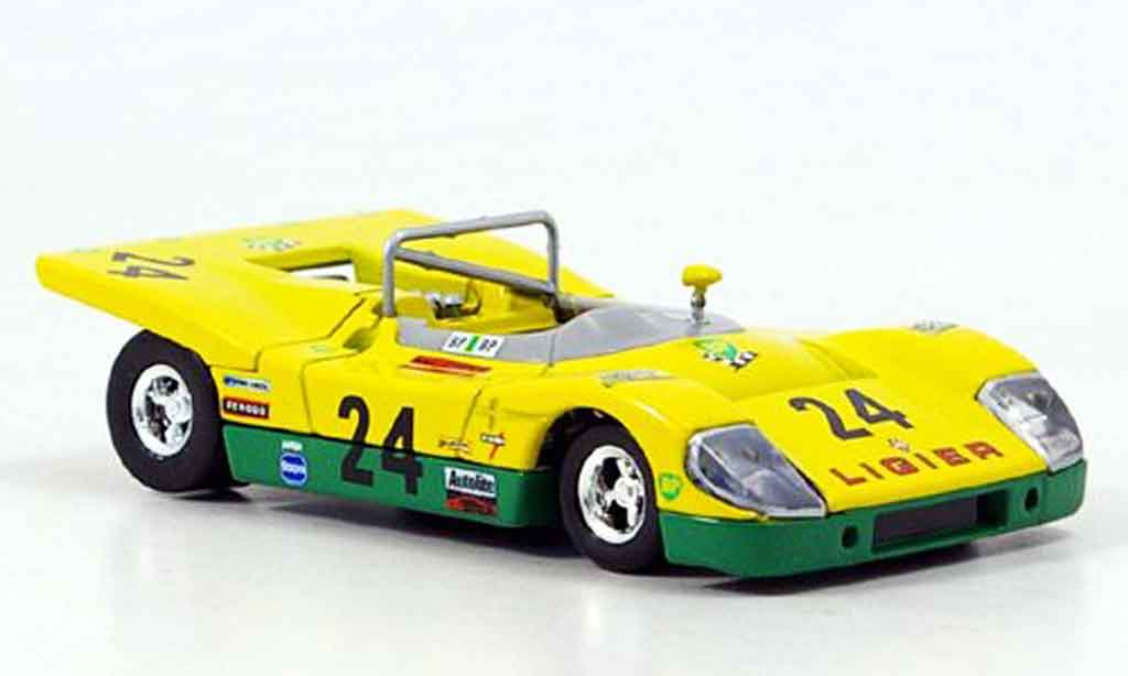 Ligier JS3 1/43 Solido No.24 1971 miniature