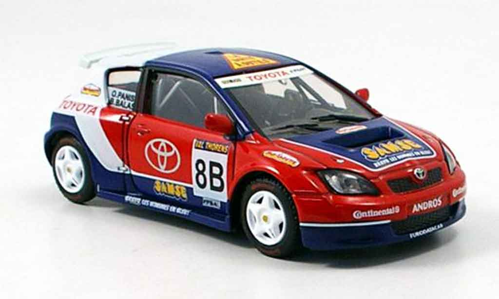 Toyota Corolla 1/43 Solido andros o.panis collection exklusiv miniature
