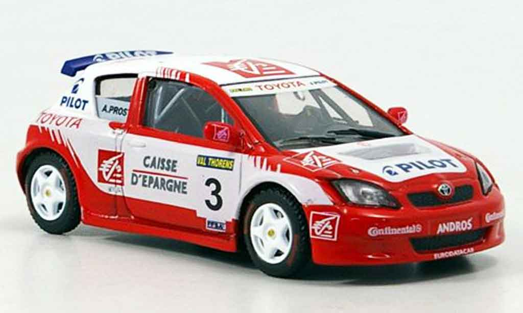 Toyota Corolla 1/43 Solido andros a.prost collection exklusiv 2006 miniature
