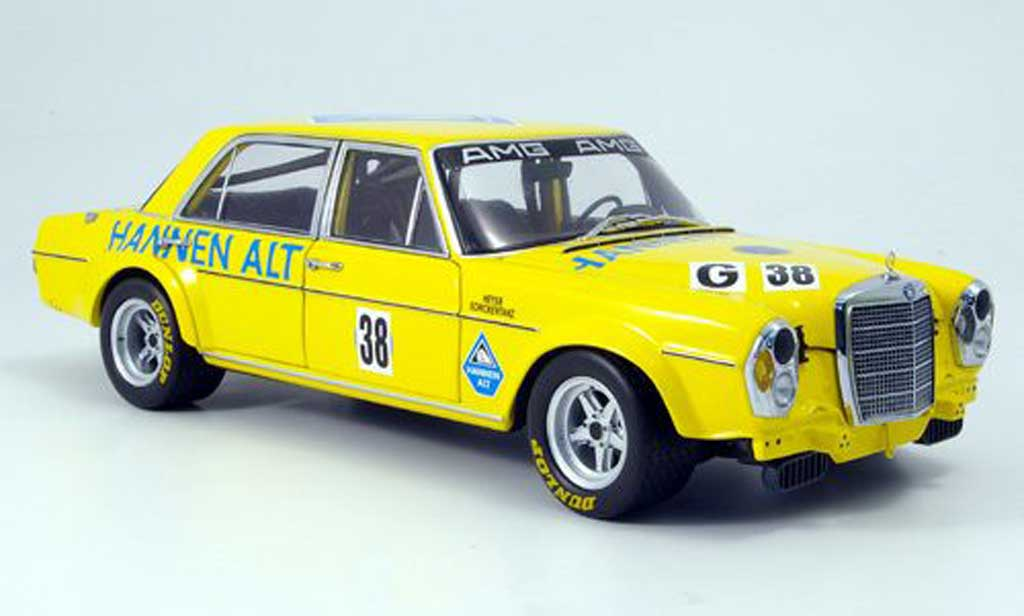 Mercedes 300 SEL 1/18 Minichamps 6.8 liter amg heyer hockenheim 1971 miniature