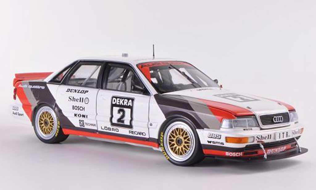 Audi V8 Quattro 1/18 Minichamps Quattro No.2 Team SMS Motorsport H.Haupt DTM-Saison 1991 miniature