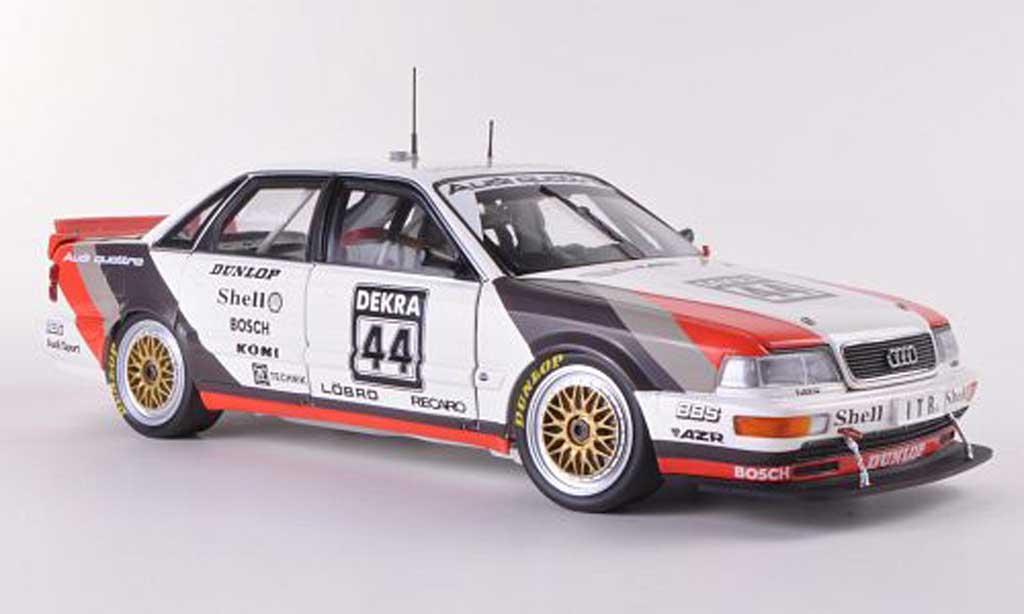 Audi V8 Quattro 1/18 Minichamps No.44 Team AZR F.Jelinski DTM-Saison  1991 diecast
